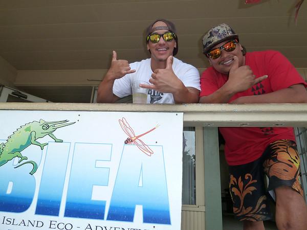 Zip-Line Hawaii 2011