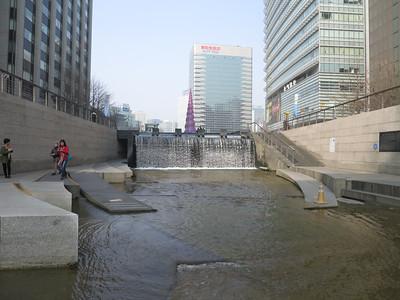 Waterpompen beginpunt stroom