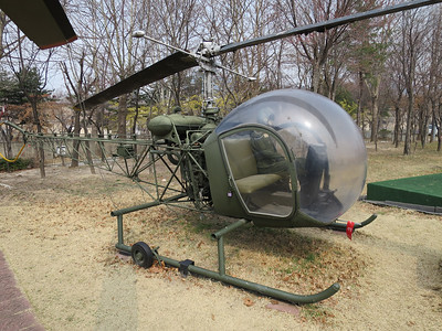 Mash helicopter - Bell 47