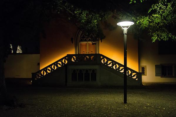 Lindenhof by night
