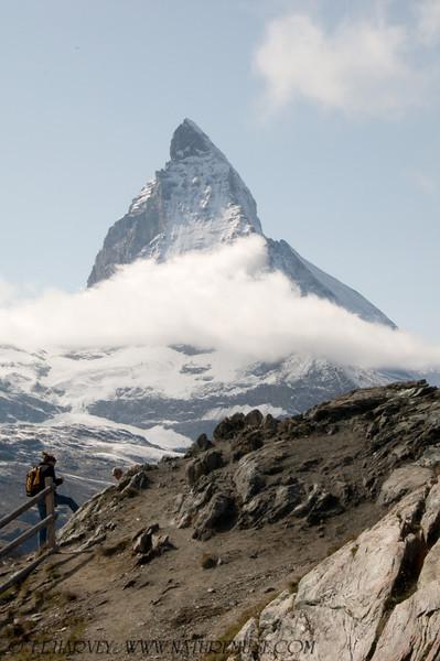 Matternhorn & Hiker