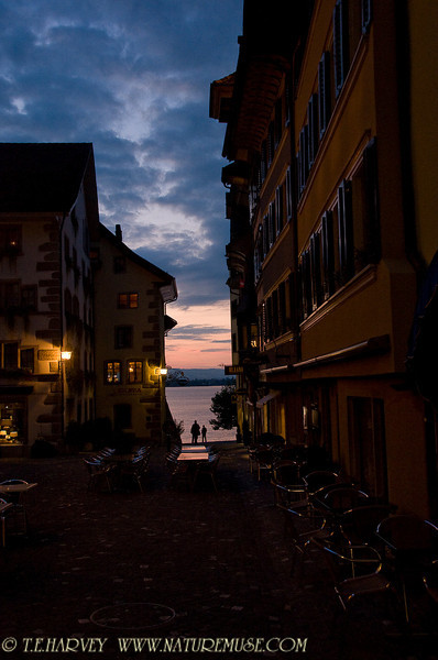 Dusk at Zug, Switzerland.