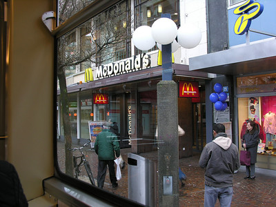 Switzerland, Zurich - McDonalds