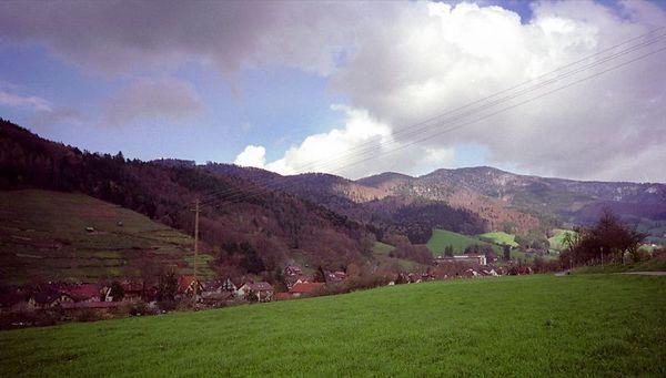 Kandel, 1242 meter