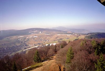 Uitkijktoren richting Wiedener Eck, Blechen