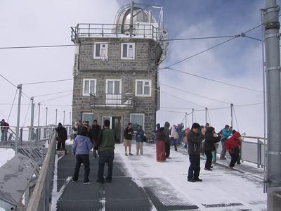 Jungfraujoch, 3454 meter