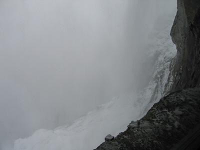 Halte Eigerwand, 2865 meter