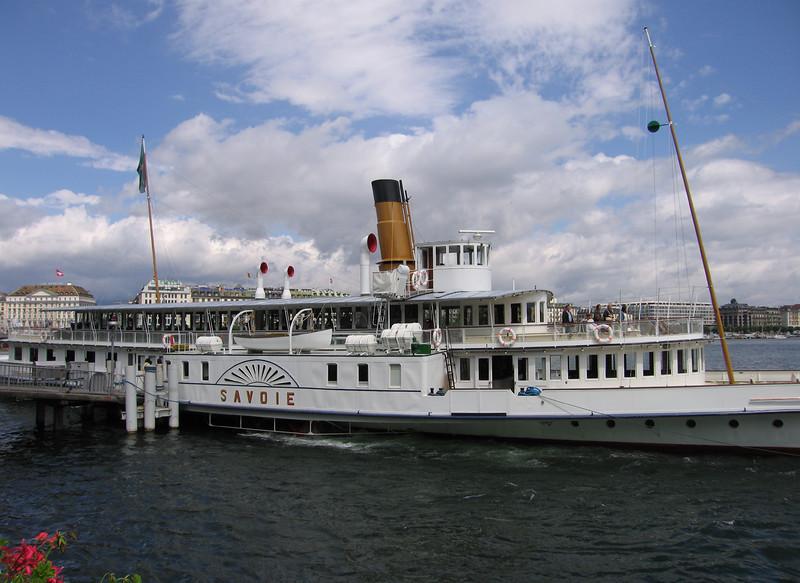 Stoomschip Savoie