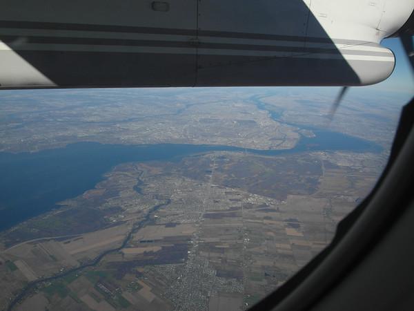 Fleuve St-Laurent et Île de Montréal