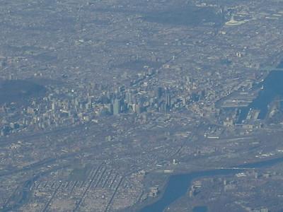 Mont Royal, Centre-ville de Montréal , stade olympique et parc botanique