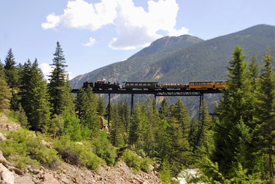The Georgetown Loop Railway in  Colorado