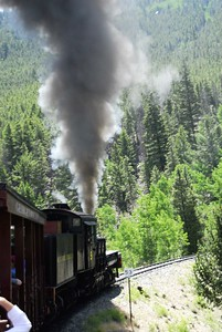 The  Georgetown Loop Railroad, Colorado
