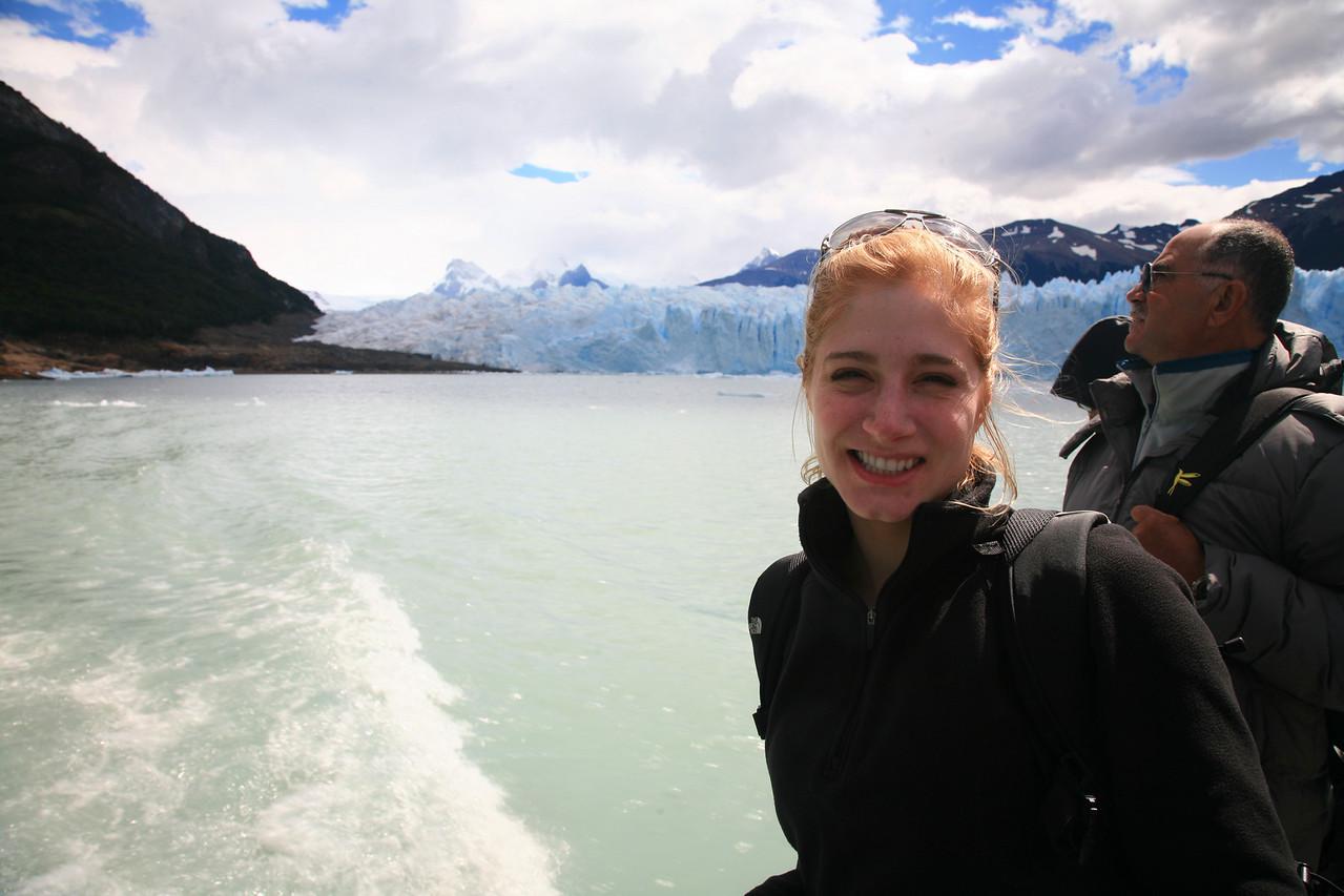 Leaving the glacier trek.