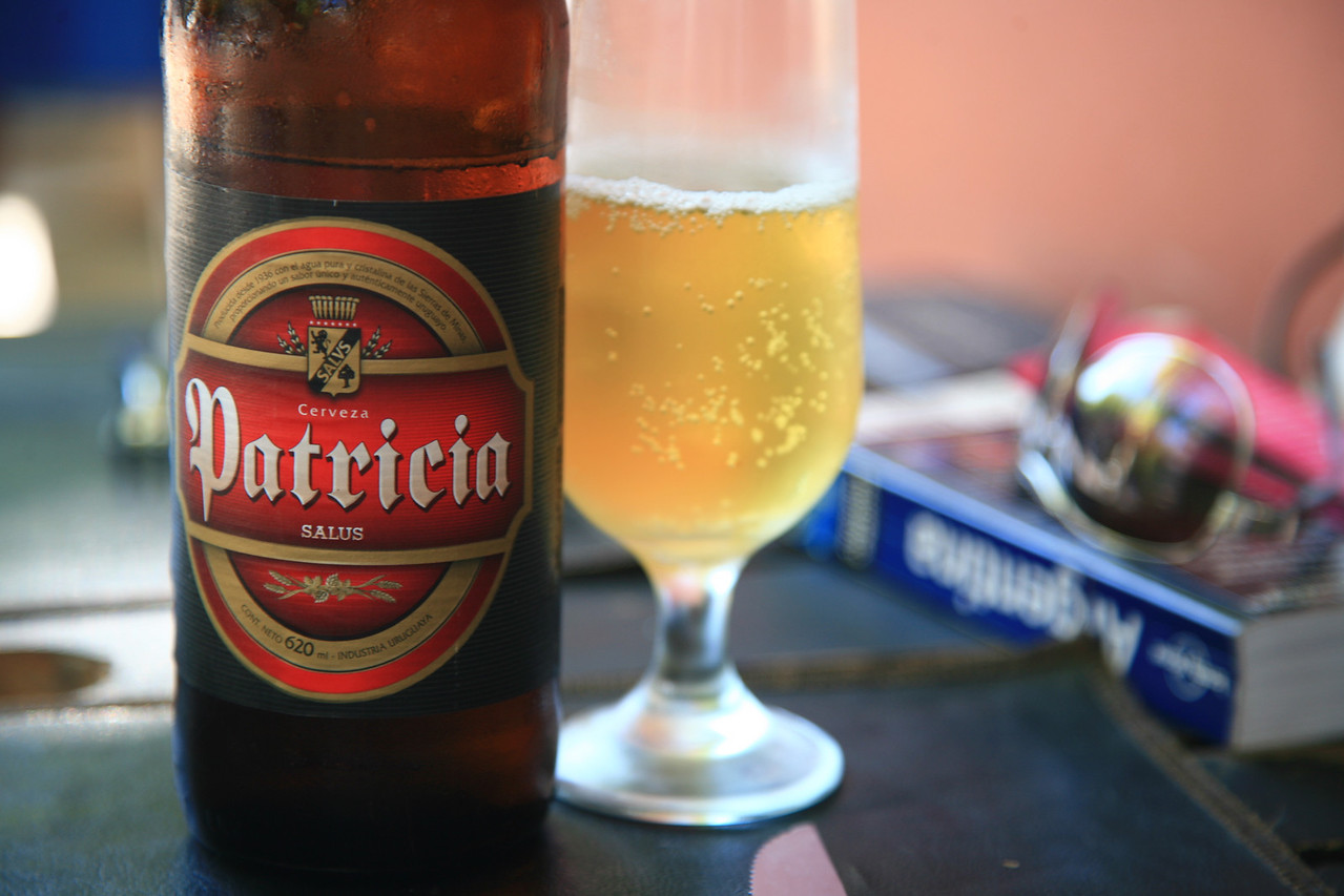Mmm ... cerveza.