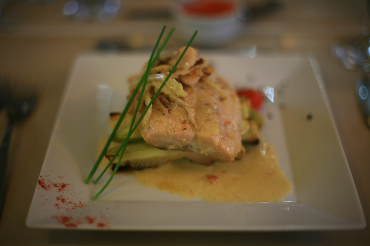 """Hosteria el Pilar told us, """"we like to keep our food really simple."""""""