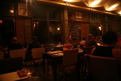 Anna's Bistro in Mendoza.