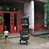 Incense burner at Kaifu Temple