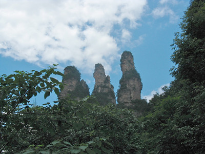 Three Sisters Rocks
