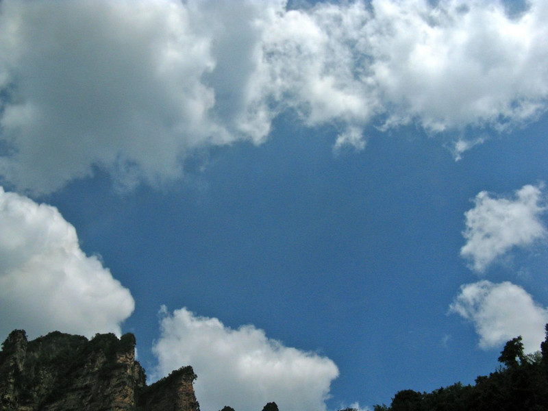 Finally, a gorgeous blue sky!