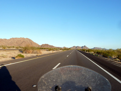 I-8 near the Sonoran Desert park.