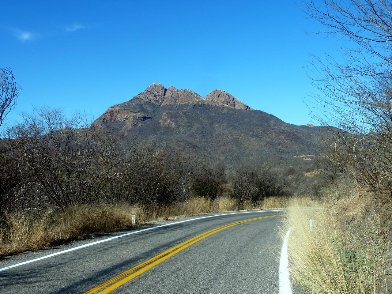 Cool rocky hillside.