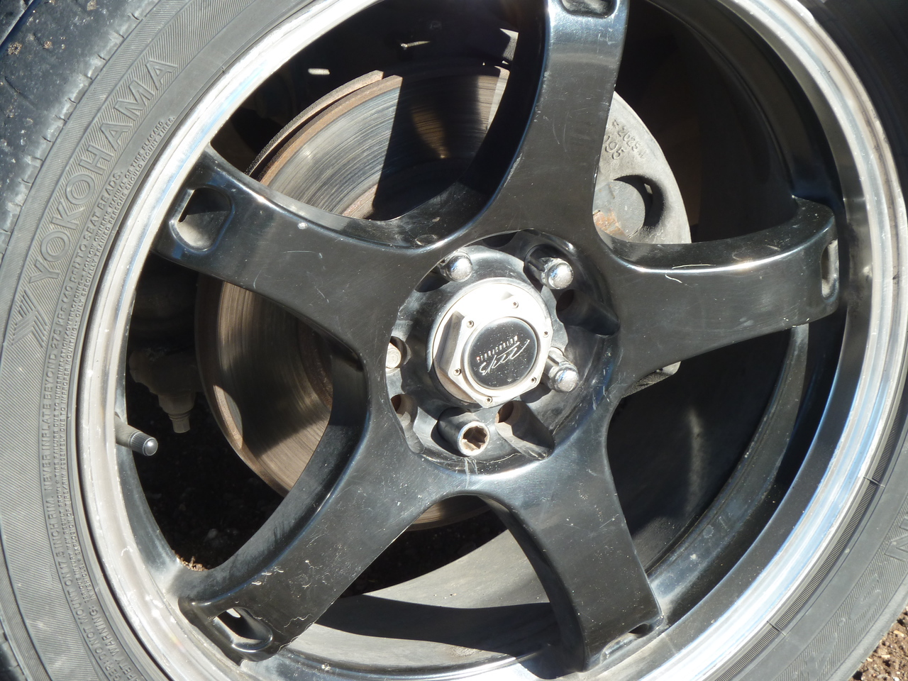 Welcome to Mexico- who needs all their lugnuts?