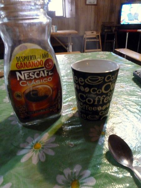 Quality coffee in Yecora :-(