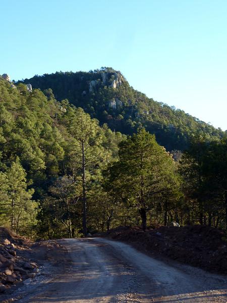 Great rock pinnacles.