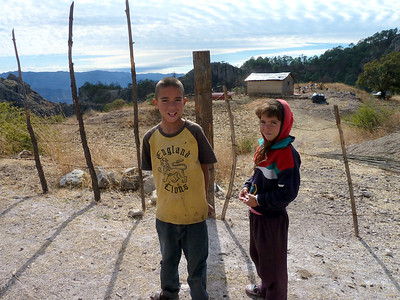 Boys who live at a remote settlement.