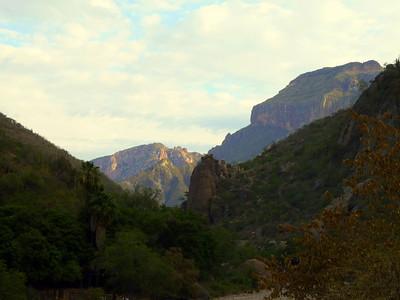 Canyons north of Creel.