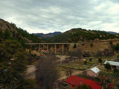 Train bridge.