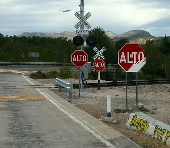 Railroad crossing. I don't understand what I'm supposed to do.