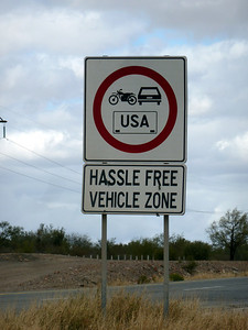 What does Hassle Free Vehicle Zone mean? I don't know.