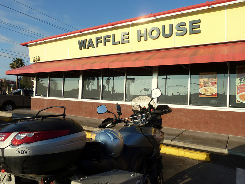 Waffle House. Because Arizona is in the (racist) South.