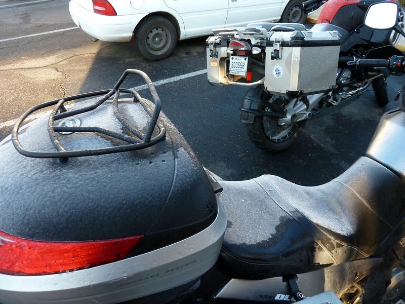 Icy bike.