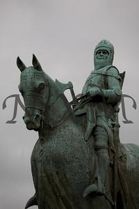 Robert the Bruce Statue at Bannockburn, Stirling