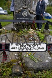 Rob Roy's Grave, Balquhidder's Parish Church Yard
