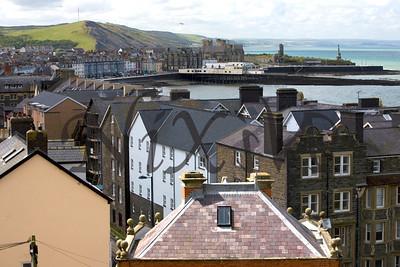 View from the Aberystwyth Cliff Railway, Aberystwyth