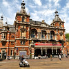 Leidseplein, or Leidse Square, near our hotel. A perfect spot to stay to enjoy the city.