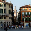 After renting a Fiat Punto in Milan, we embarked on the auto-strada and made our way first to Bergamo for lunch, then a quick trip into Verona to check out the town square. Our first foray into crazy Italian driving, narrow streets, and a GPS that insisted we were somewhere we weren't.