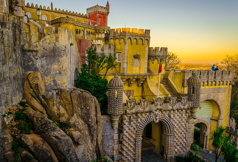 Sintra Pena Palace Photography By Messagez com