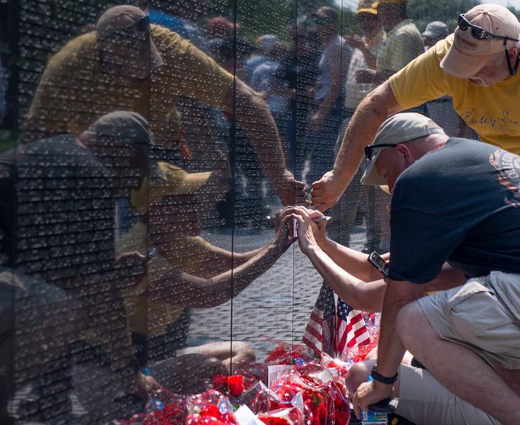 The Wall - Vietnam Veterans Memorial, Washington D.C.
