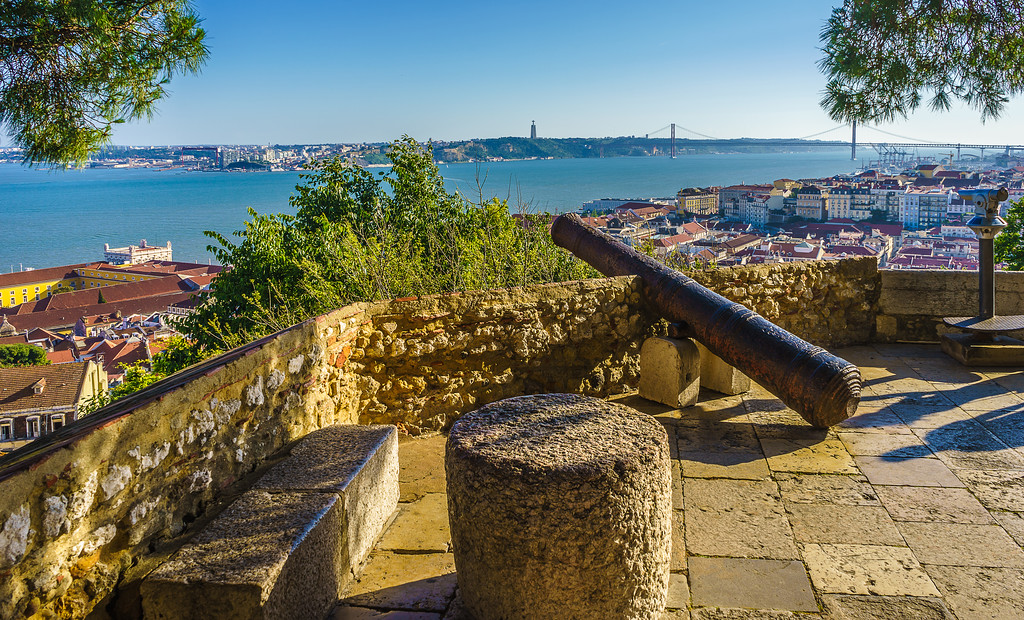 Original Portugal Lisbon Castle Photography 6 By Messagez com