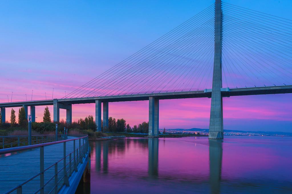Magic Portugal Lisbon Sunset Reflection Photography 5 By Messagez com