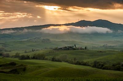 Tuscany Sunburst