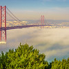 Original Lisbon 25th of April Bridge Landscape Photography 4 By Messagez com