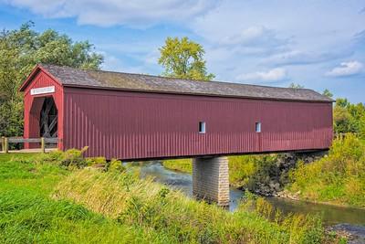 Covered Bridge Zumbrota, Minnesota