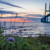 Lisbon Vasco da Gama Bridge at Sunrise Photography 2 By Messagez com