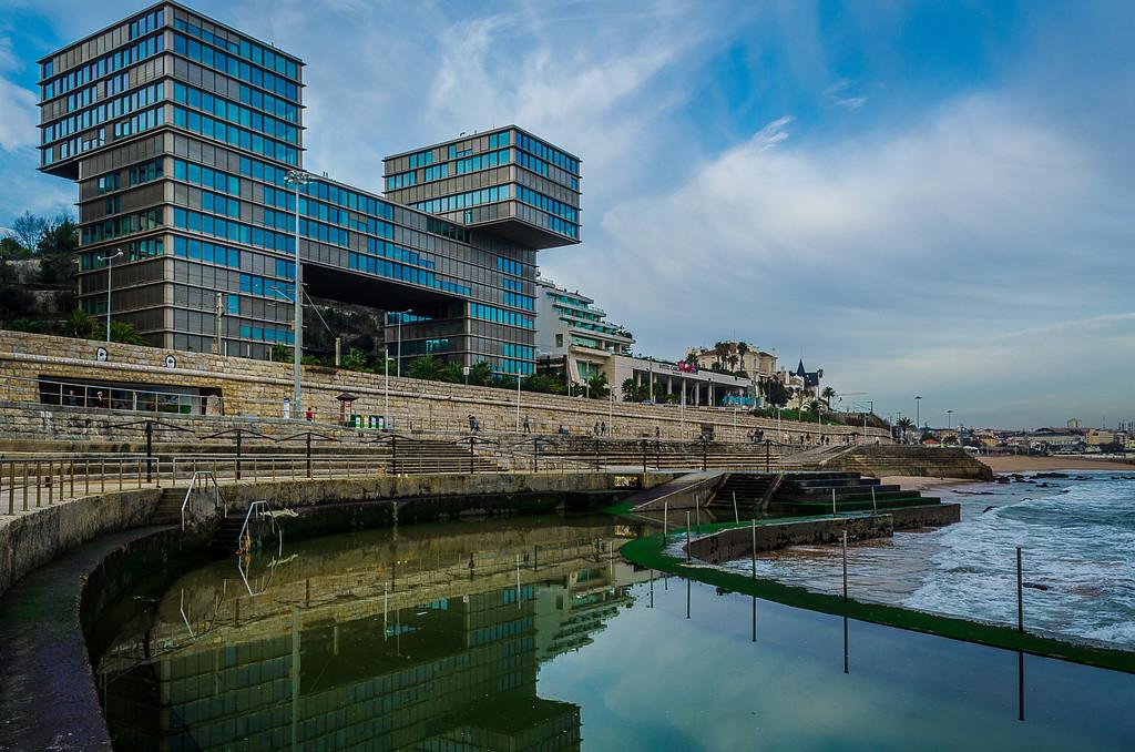 Cascais Architecture Reflection Fine Art Photography By Messagez com