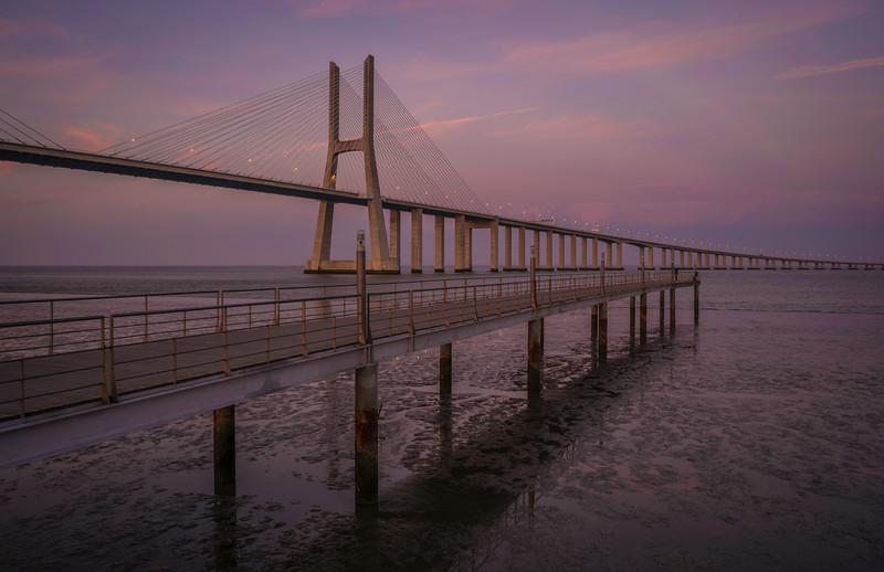 Another View at Lisbon Vasco da Game Bridge Photography 3 Messagez com